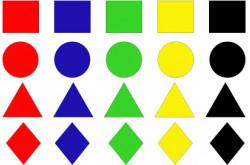 Фигуры и цвета (1+)