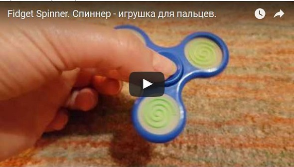 video spinner, fidget spinner