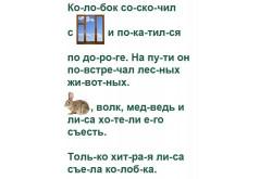 Чтение по слогам: карточки средней сложности (4+)